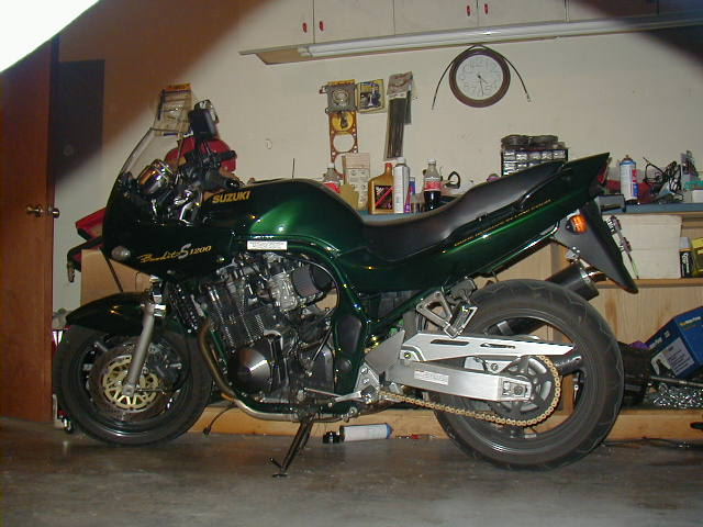1999  Suzuki Bandit S picture, mods, upgrades