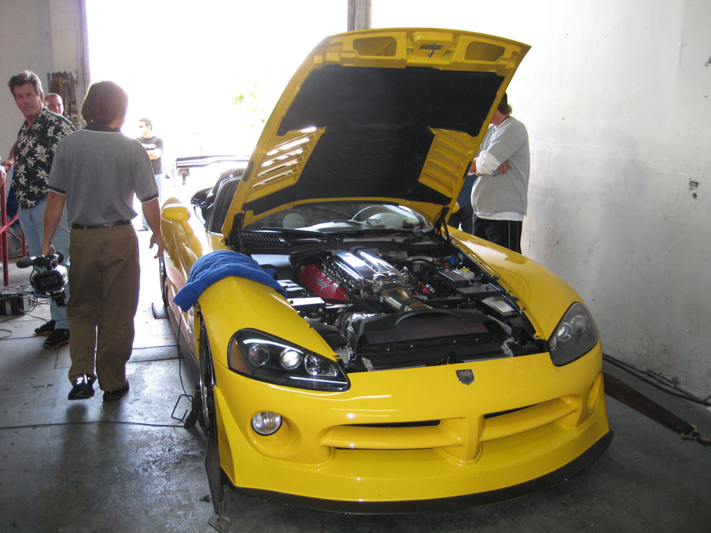 2005 Dodge Viper SRT10 Paxton Supercharger