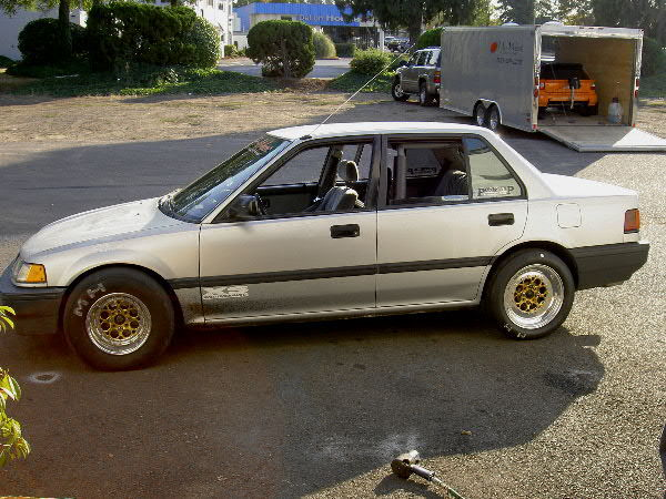 1988 Honda Civic 4 door dx