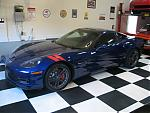 Stock Chevrolet Corvette Z06 runs 10's