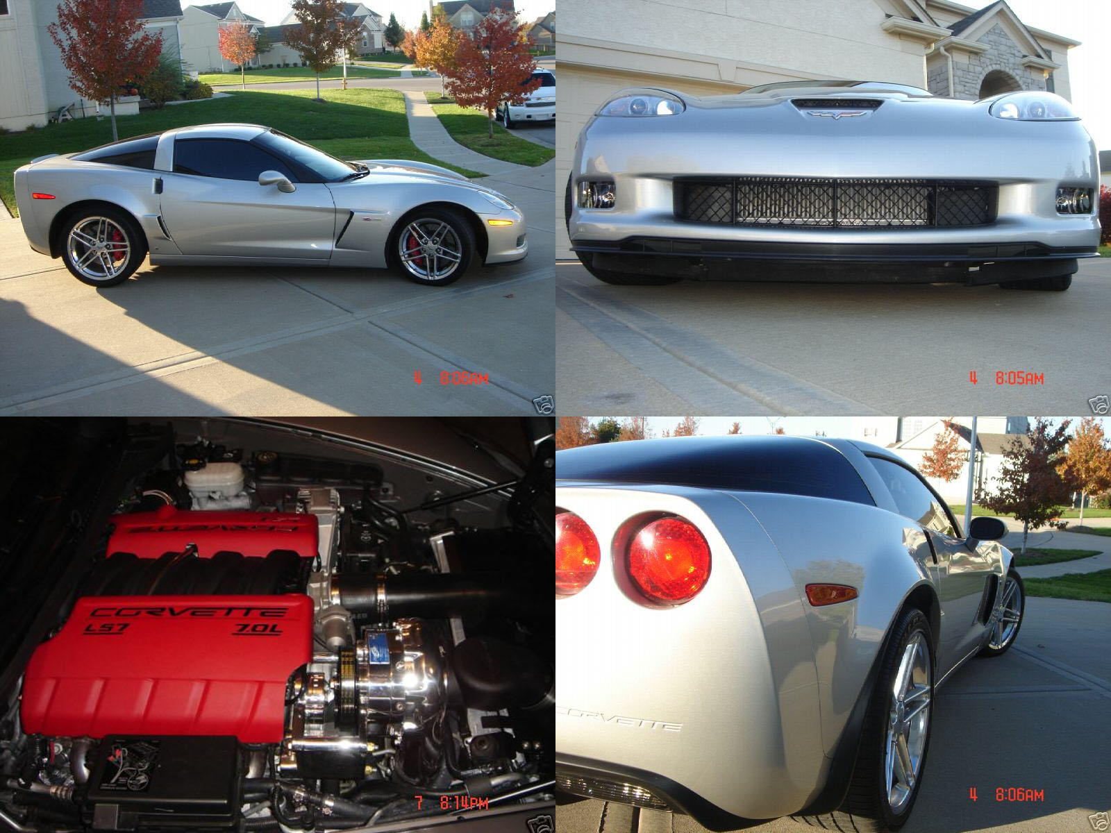 2006 Chevrolet Corvette Z06 Procharger Supercharger