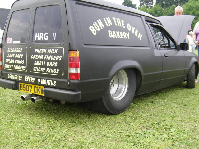 1985 Ford Escort van