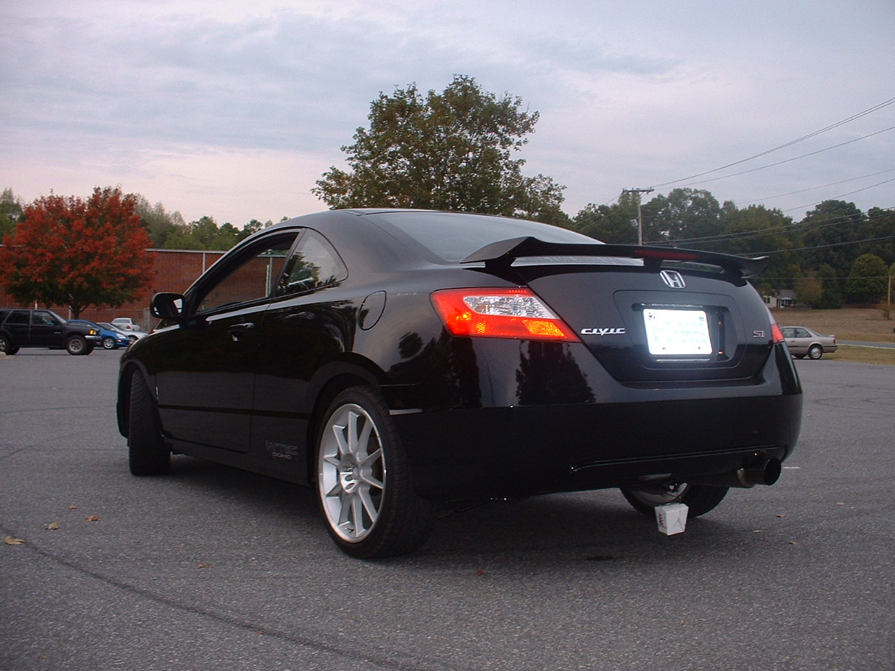 2007  Honda Civic Si picture, mods, upgrades