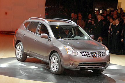 Speed 2009 Nissan Rogue Car Domain