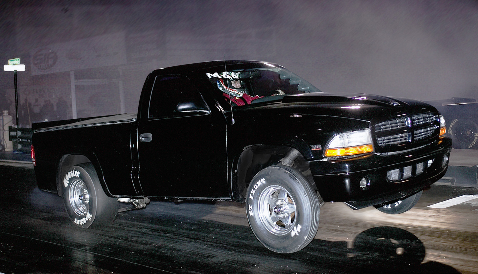1999 Black Dodge Dakota R/T RC Turbo picture, mods, upgrades