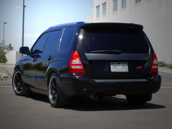 subaru forester xt carriage