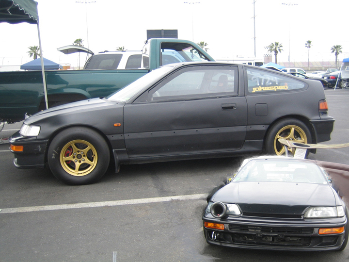 1988  Honda Civic CRX HF picture, mods, upgrades
