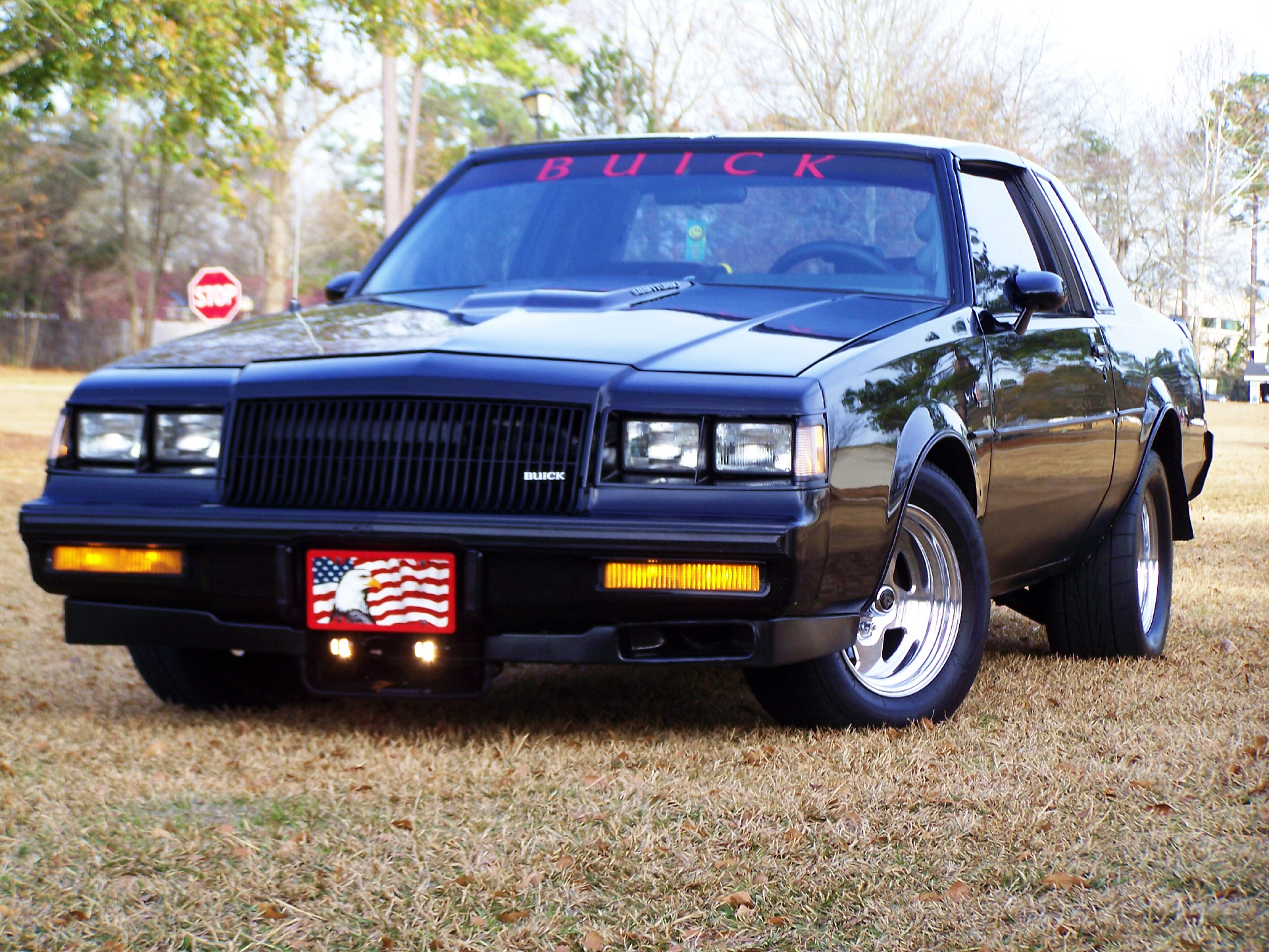 1987 Buick Grand National 1/4 mile Drag Racing timeslip specs 0-60