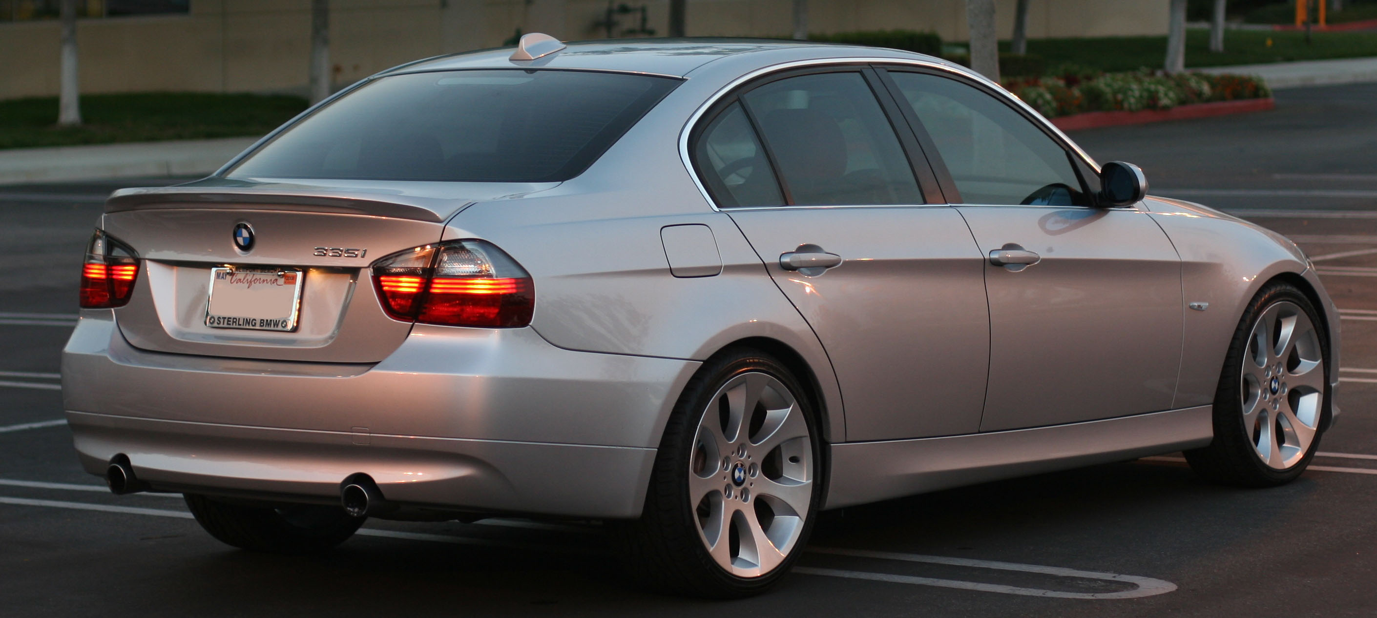 BMW I Sedan AT JBH Mile Drag Racing Timeslip Specs - 2007 bmw 335i performance upgrades