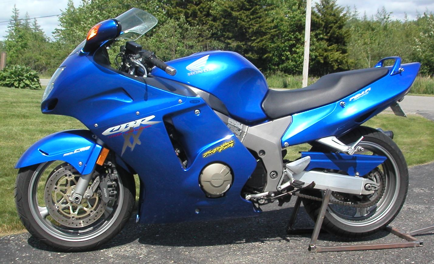 2001  Honda CBR 1100 XX Blackbird picture, mods, upgrades