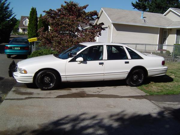 1993–94 Chevrolet Caprice Classic Police
