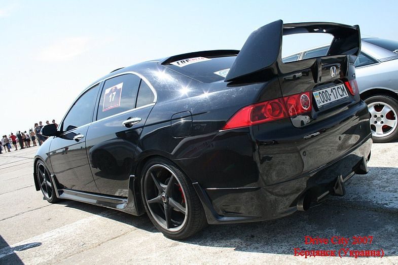 You can vote for this Honda Accord EX to be the featured car of the month on