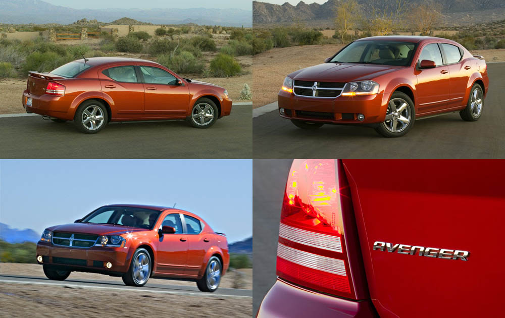 Dodge Avenger A Serious Machine Pics