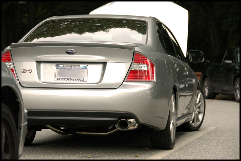 2006  Subaru Legacy GT SpecB picture, mods, upgrades