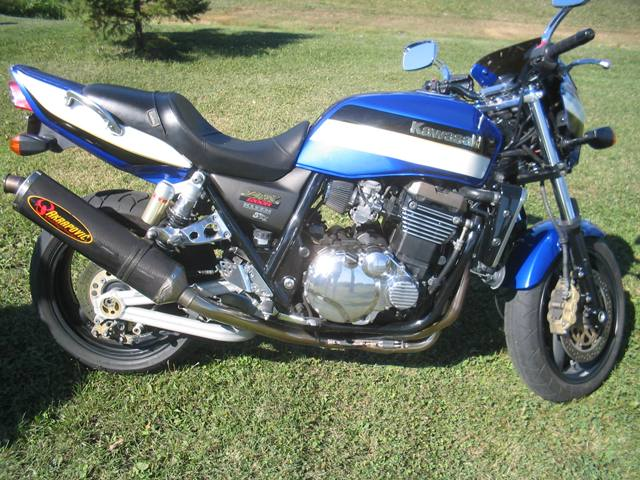 2002  Kawasaki ZRX 1200r picture, mods, upgrades