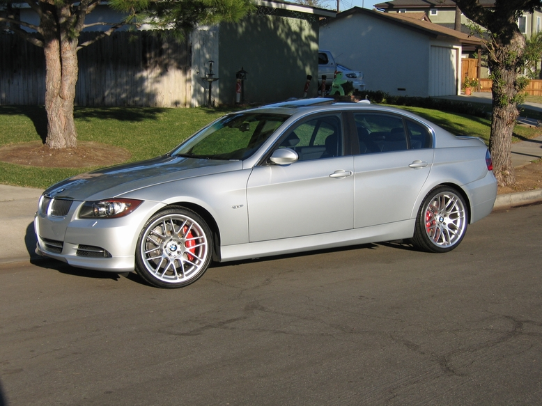 BMW I JBHR Speed Manual Mile Drag Racing Timeslip - 2007 bmw 335i performance upgrades