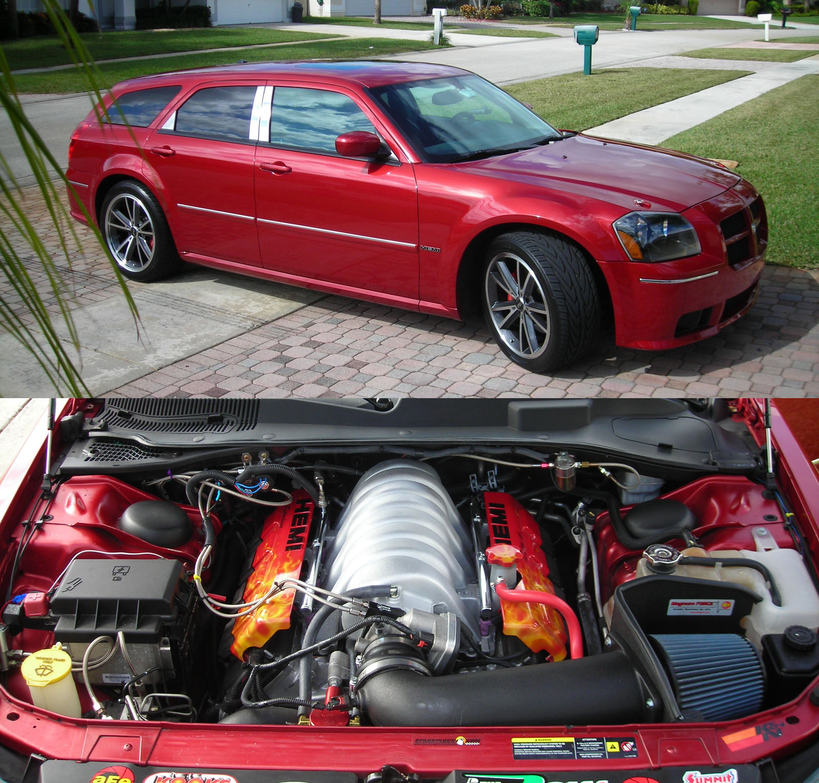 2006  Dodge Magnum SRT8 420 Stroker picture, mods, upgrades