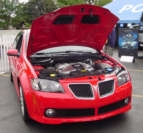 Stock 2008 Pontiac G8 GT 1/4 mile Drag Racing trap speed 0-60