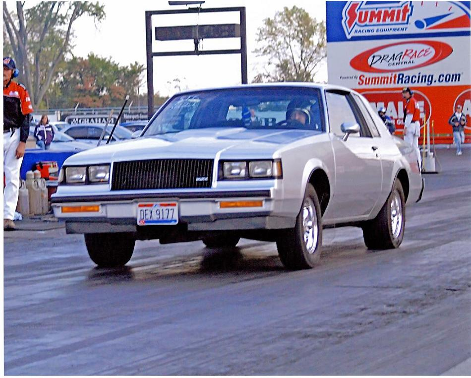 1985  Buick Grand National T -Type picture, mods, upgrades