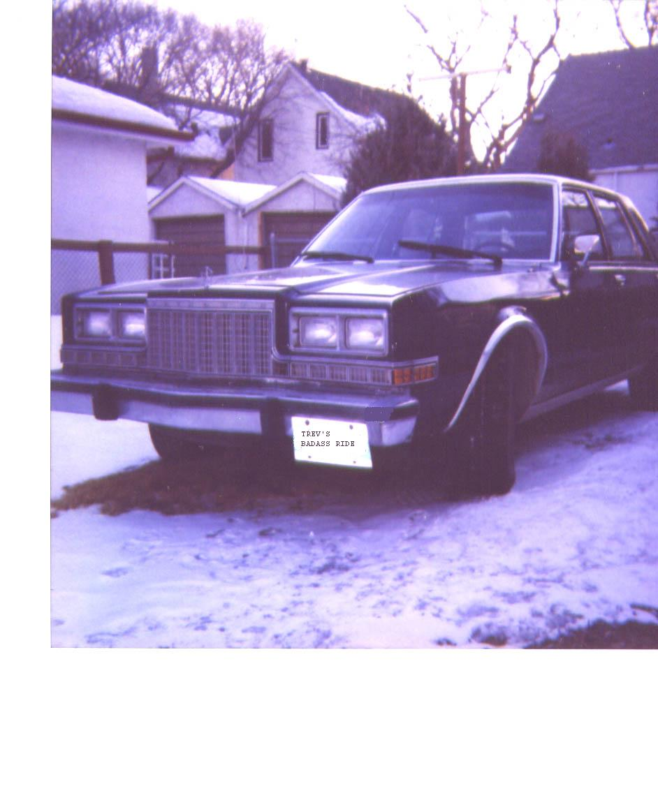 1984  Plymouth Caravelle salon picture, mods, upgrades