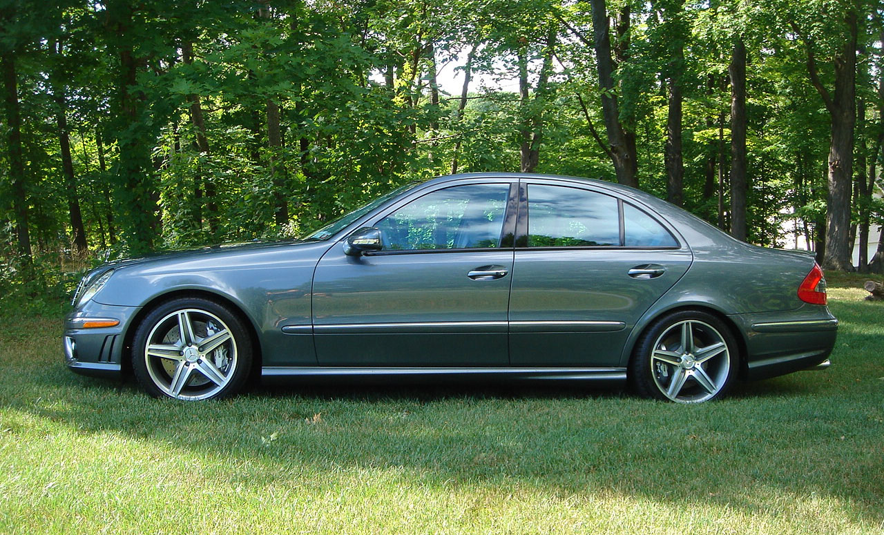 2007  Mercedes-Benz E63 AMG  picture, mods, upgrades