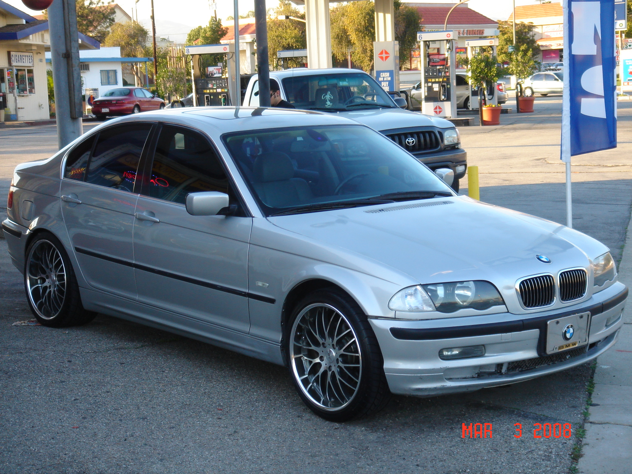 2000 Bmw 328i E46 1 8 Mile Drag Racing Timeslip 0 60