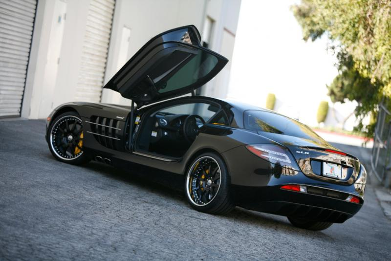 2005  Mercedes-Benz SLR Kleeman picture, mods, upgrades