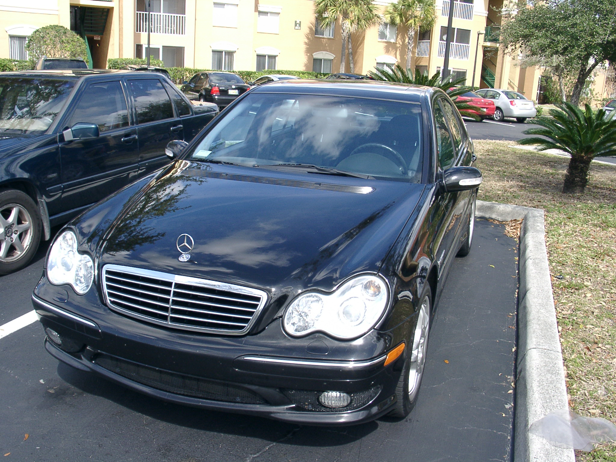 stock 2003 mercedes benz c32 amg 1 4 mile drag racing