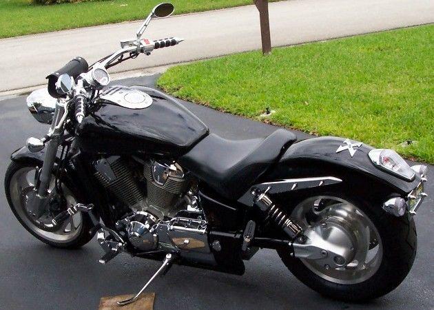 2003 Honda VTX 1800 Custom 1/4 mile Drag Racing timeslip specs 0-60 ...