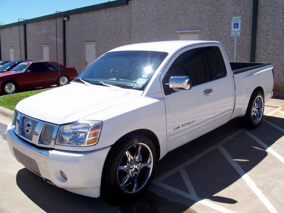 Find a custom set of 20 Inch Nissan Titan Rims And Tires.