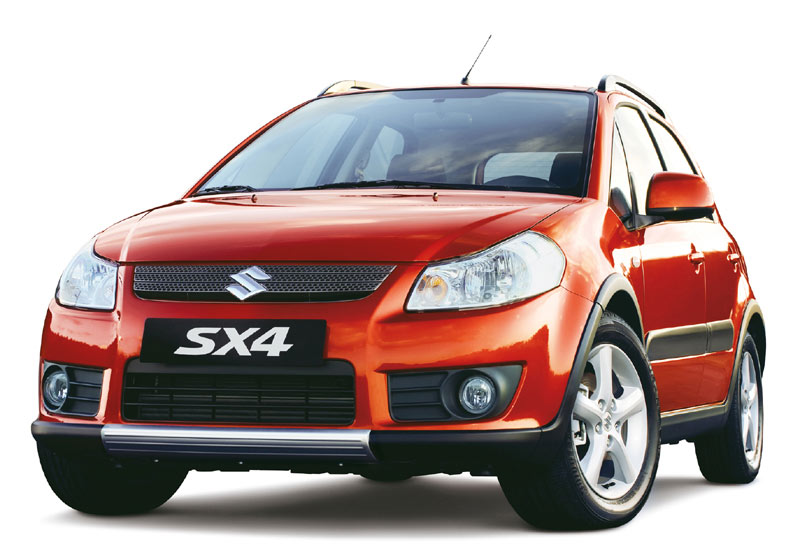 2008  Suzuki SX4 Sport picture, mods, upgrades