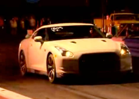 2009 Nissan GT-R Drag Racing