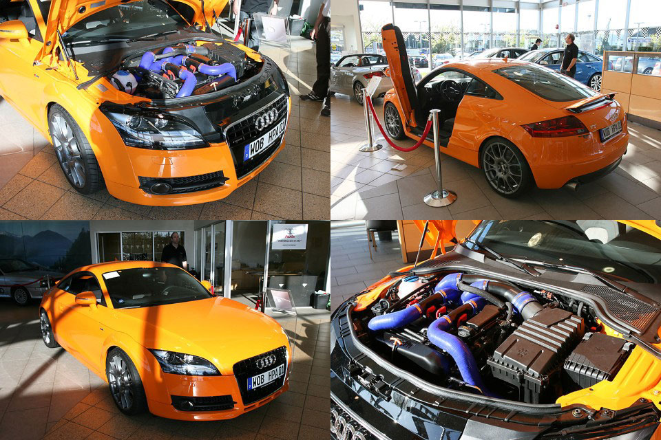 You can vote for this Audi TT HPA Twin Turbo to be the featured car of the