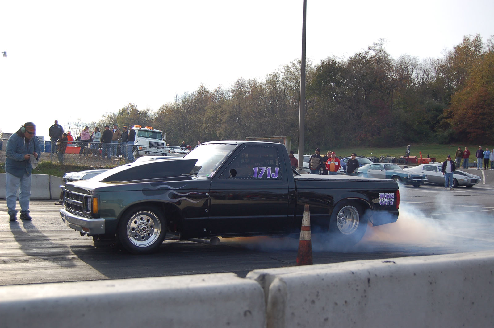 Chevy S10 Drag Truck