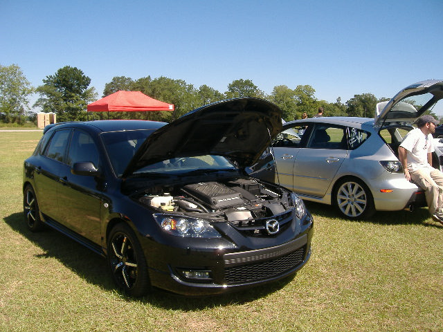 Stock 2007 Mazda 3 Mazdaspeed3 Gt 14 mile Drag Racing timeslip