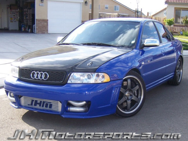 2001 Audi S4 JHM Stage 3 1/4 mile Drag Racing trap speed 0-60