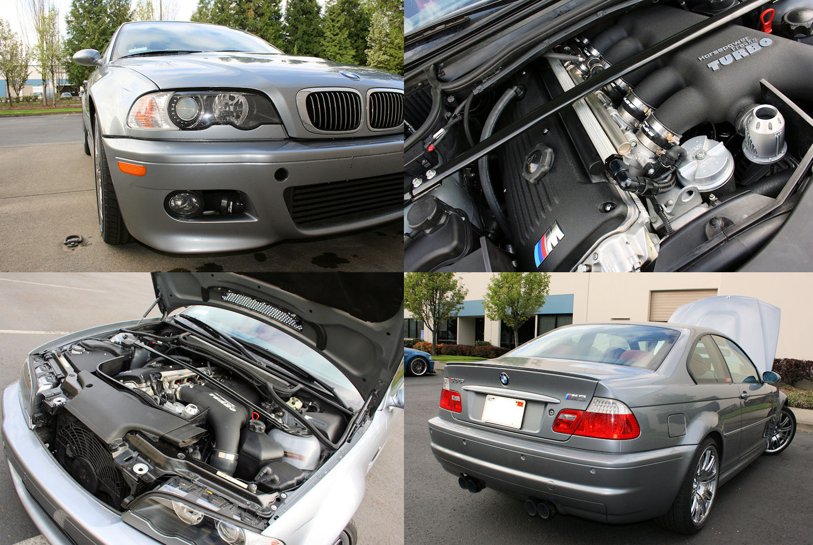 2004 BMW M3 HPF Stage 3 Turbo