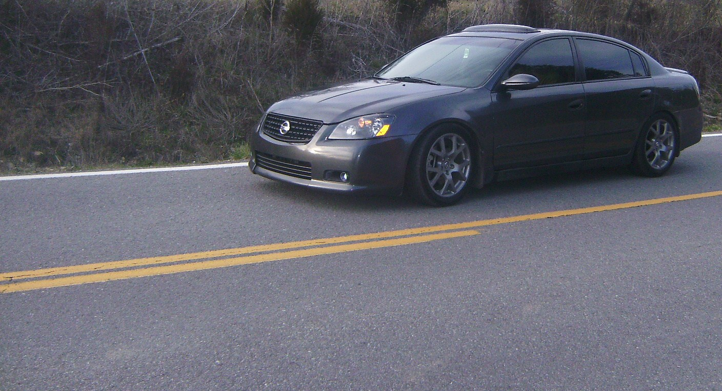 2005 nissan altima se-r 1/8 mile drag racing timeslip 0-60