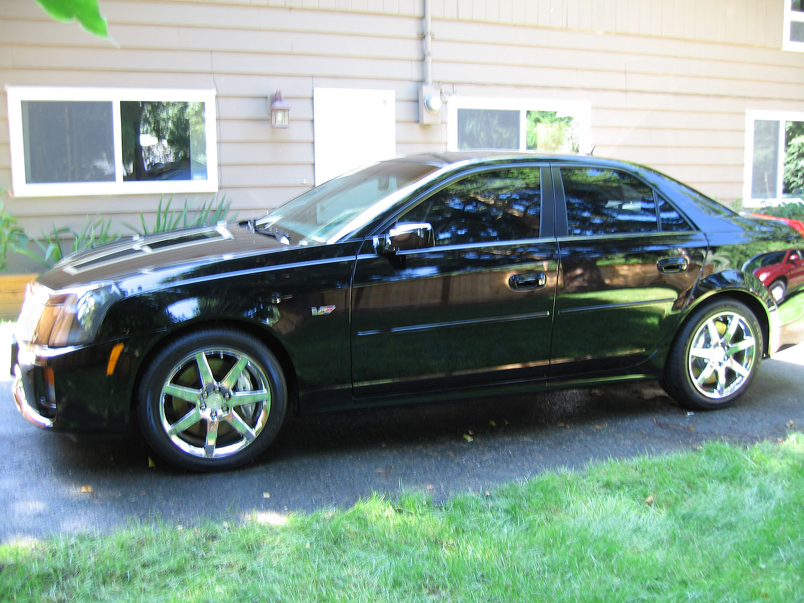 2005 cadillac cts v magnuson supercharged 1 4 mile trap. Black Bedroom Furniture Sets. Home Design Ideas
