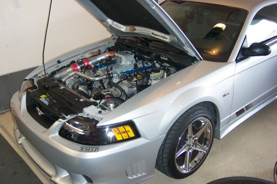 2000  Ford Mustang Saleen Twin Turbo 57mm picture, mods, upgrades