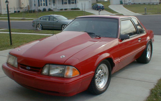 1988 Ford Mustang LX PT-74 Turbo