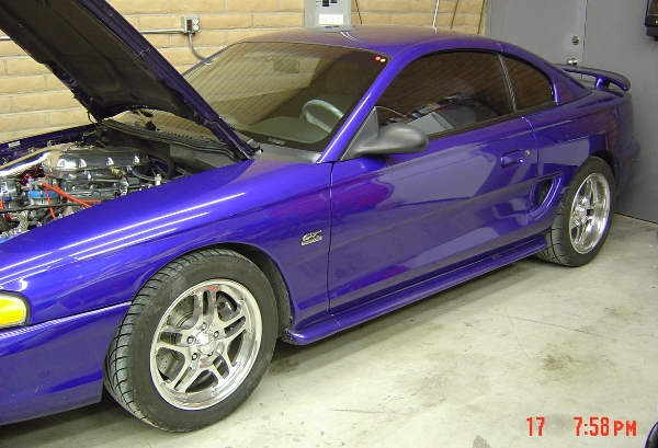 1995  Ford Mustang GT Twin Turbo picture, mods, upgrades