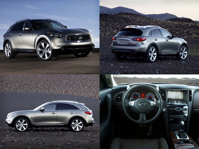 You can vote for this Infiniti FX50 to be the featured car of the month on