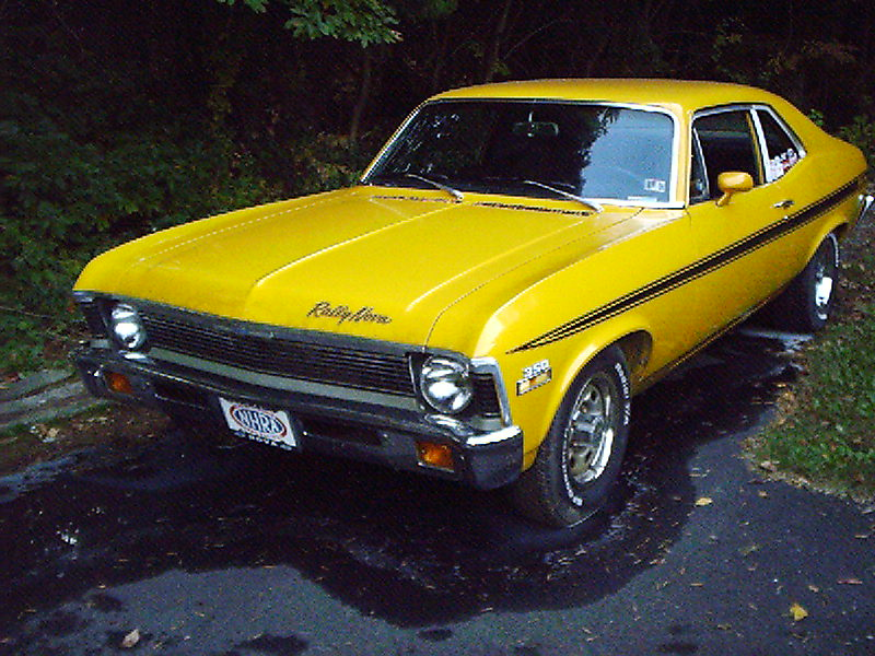 Daytona Yellow 1971 Chevrolet Nova Rally