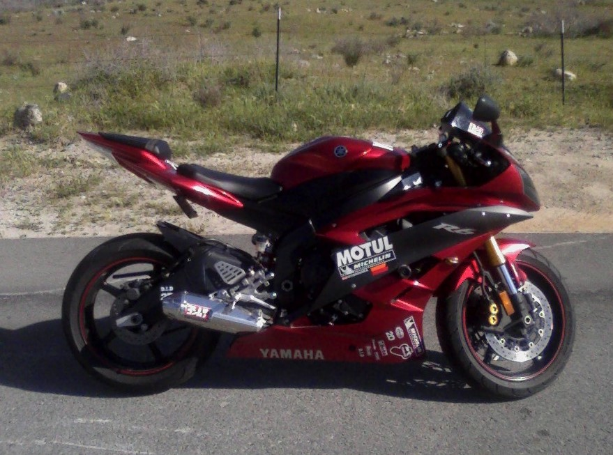 2007  Yamaha YZF R6 picture, mods, upgrades