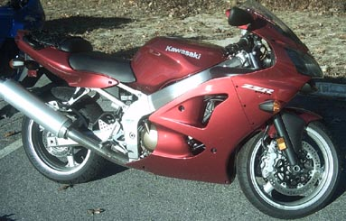 2007  Kawasaki ZZR600  picture, mods, upgrades