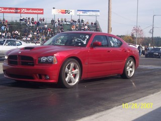 stock 2006 dodge charger srt8 1 4 mile drag racing. Black Bedroom Furniture Sets. Home Design Ideas