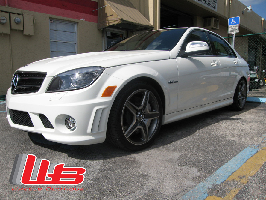 2008  Mercedes-Benz C63 AMG RENNtech picture, mods, upgrades