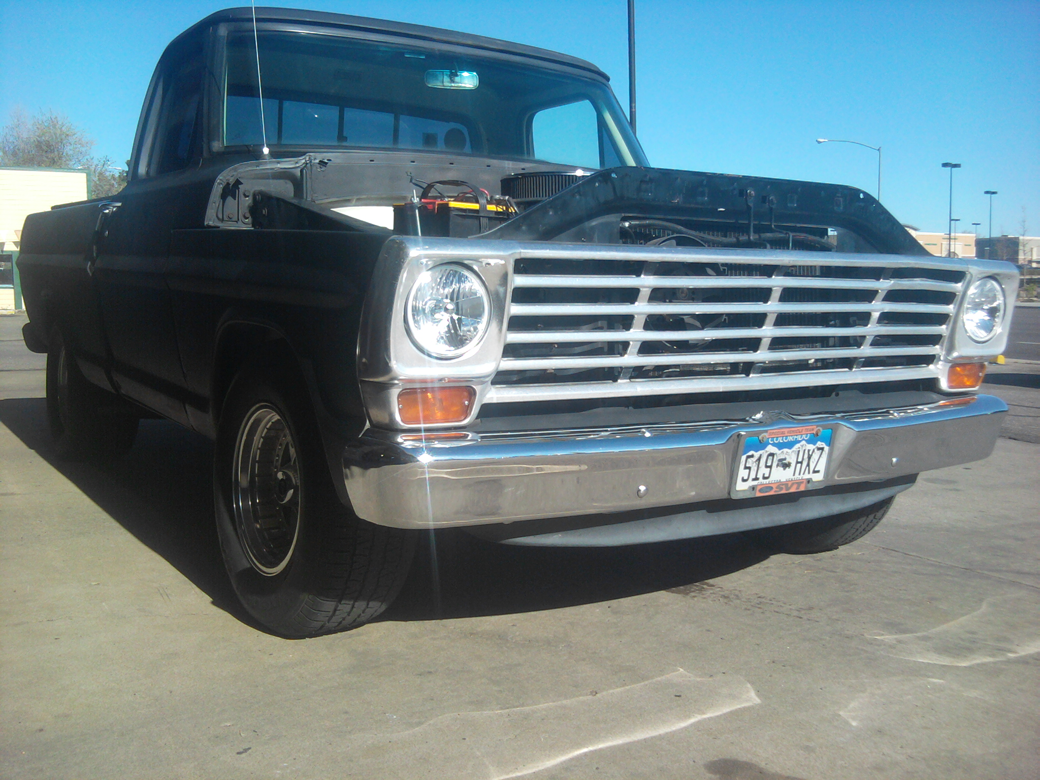 1967  Ford F100 custom cab picture, mods, upgrades