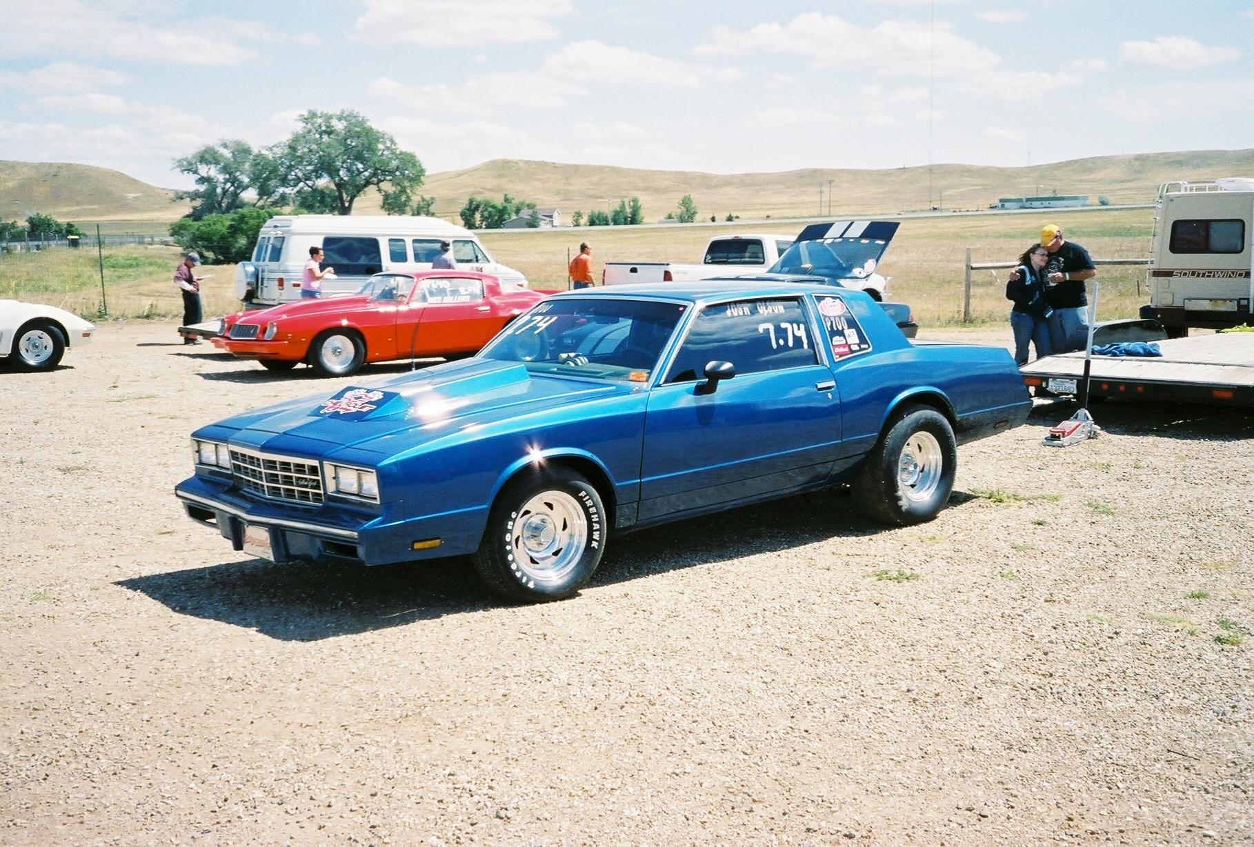 1985 Chevrolet Monte Carlo 1/8 mile Drag Racing timeslip 0-60 ...